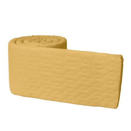 Baby Bumper Quilted - Honey Mustard