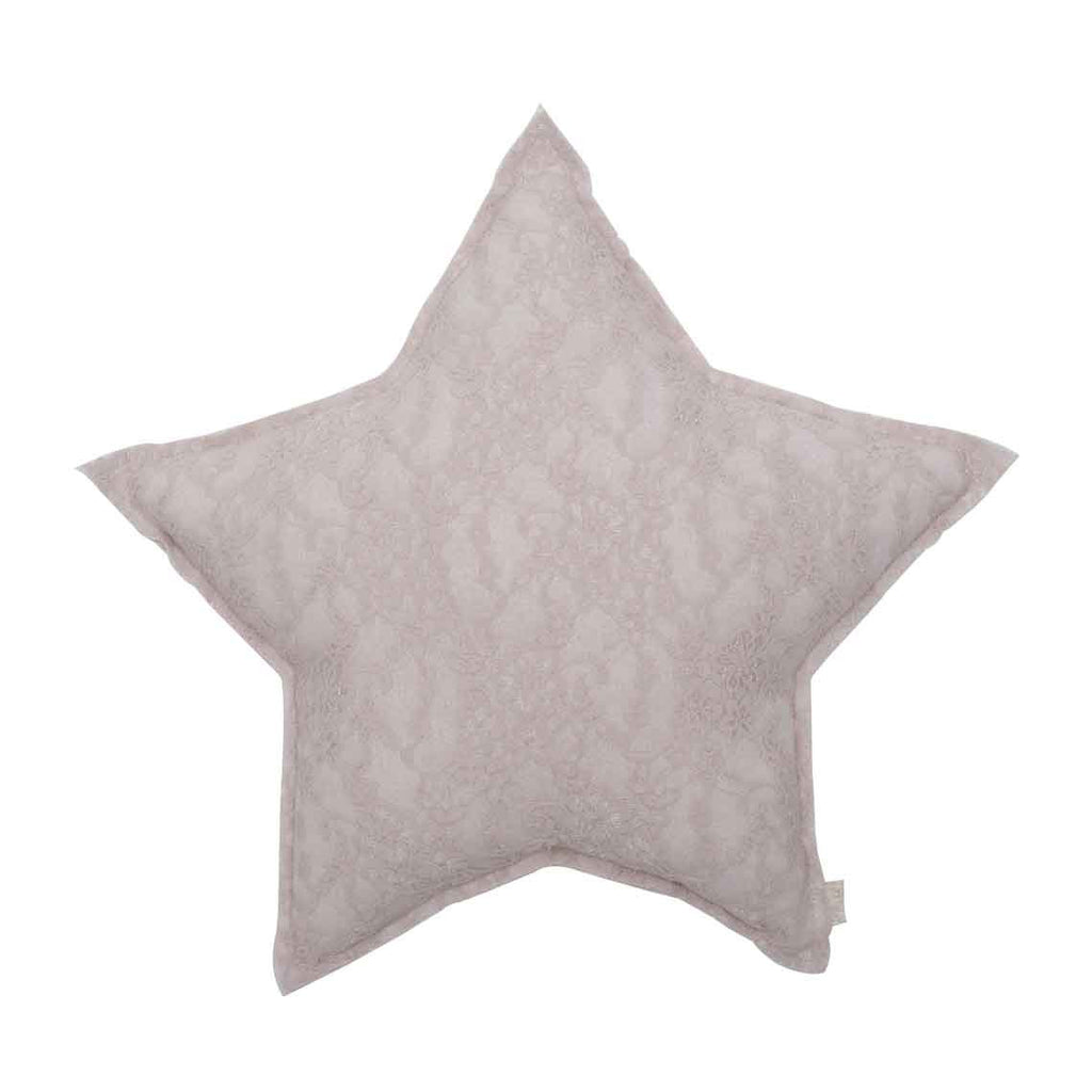 Star Cushion (Lace) - Powder