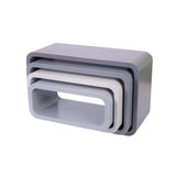 Storage Units Oval - Grey