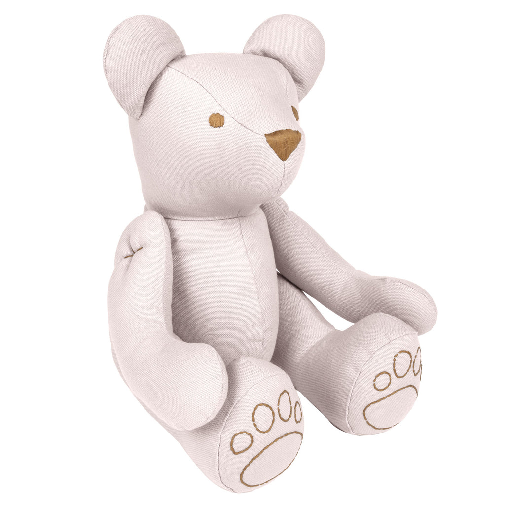 Ted Bear Cushion - Powder (Small)