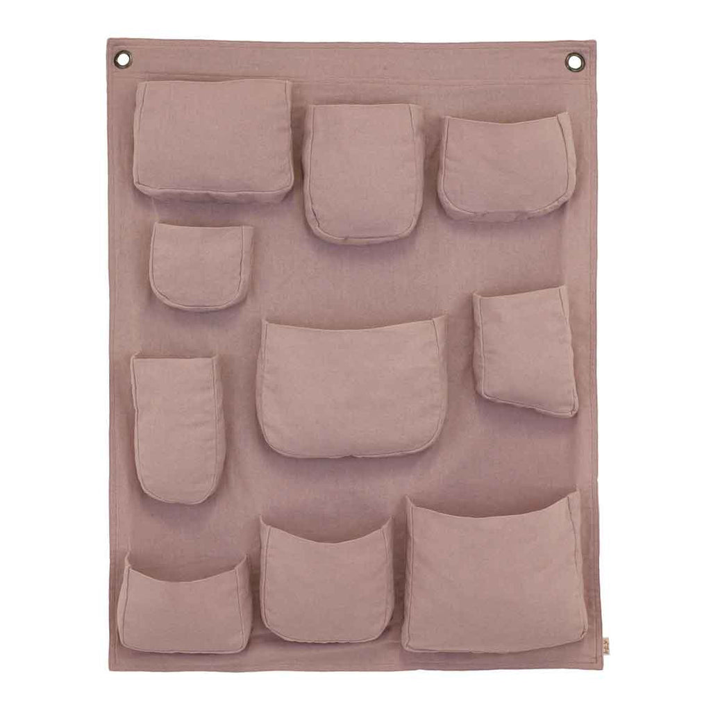 Wall Pocket - Dusty Pink