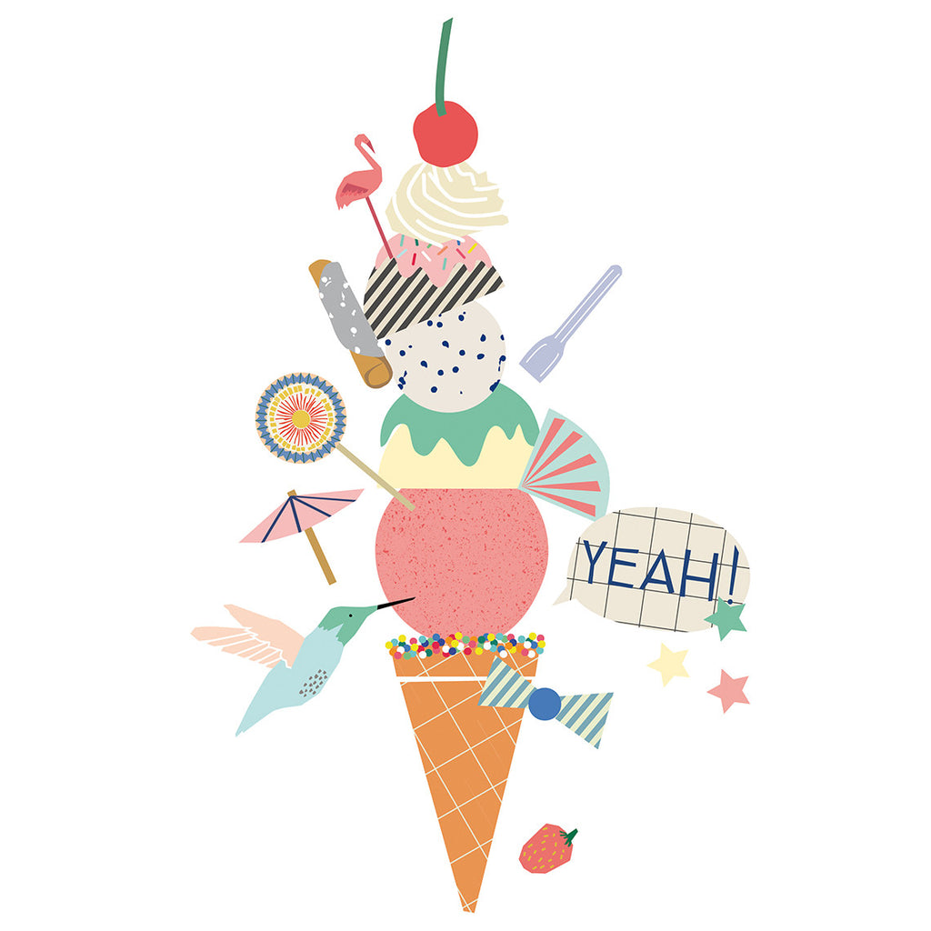 Wall Sticker - Ice Cream
