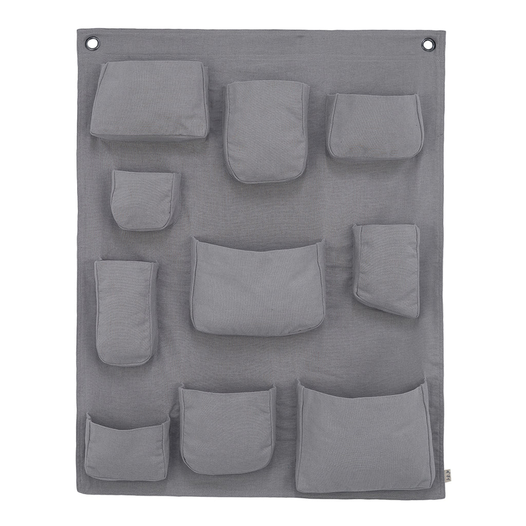 Wall Pocket - Stone Grey
