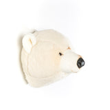 Animal Trophy Heads - White Bear Basile