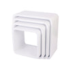 Storage Units Square - White (Matte)