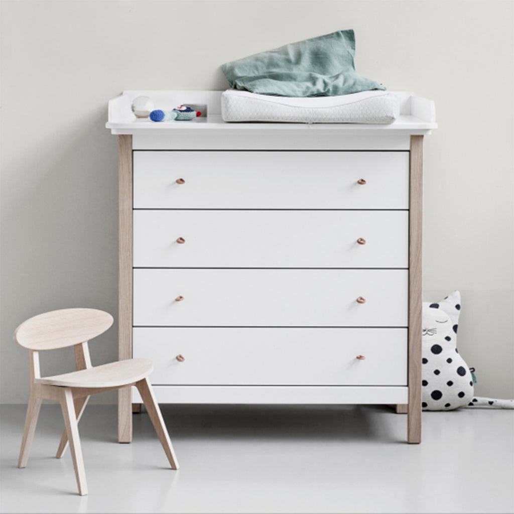 Wood Dresser With Top
