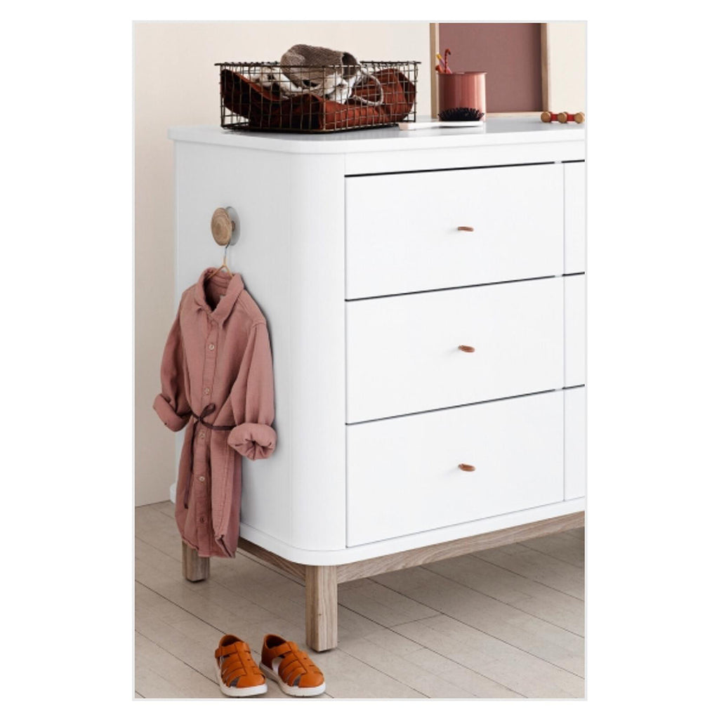 Wood Dresser - 6 Drawers