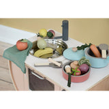 Wooden Kitchen Tools Set - Warm Grey