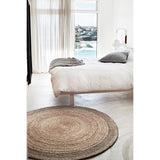 A&C - Earth Collection Zennia Rug (Pewter Border)
