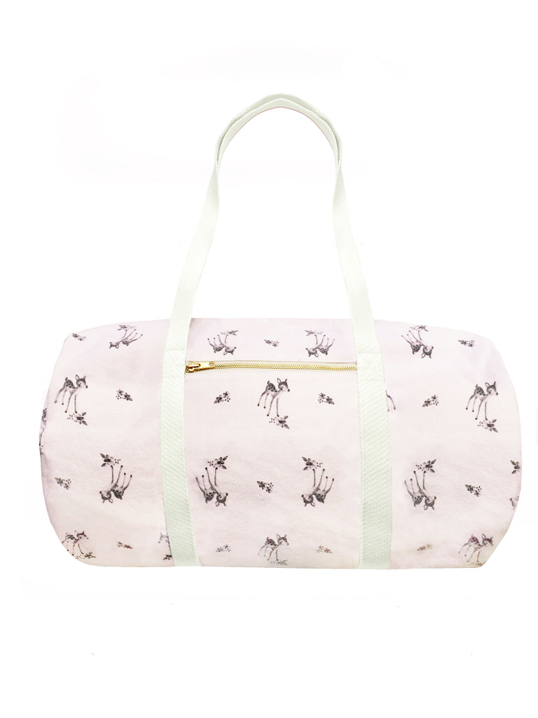 Weekend Diaper Bag - Charlotte Pink (Fawn Print)