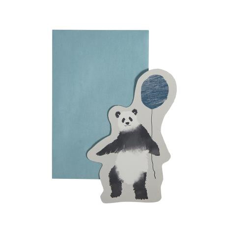 Greeting Card - In The Sky (Panda Cloud Blue)