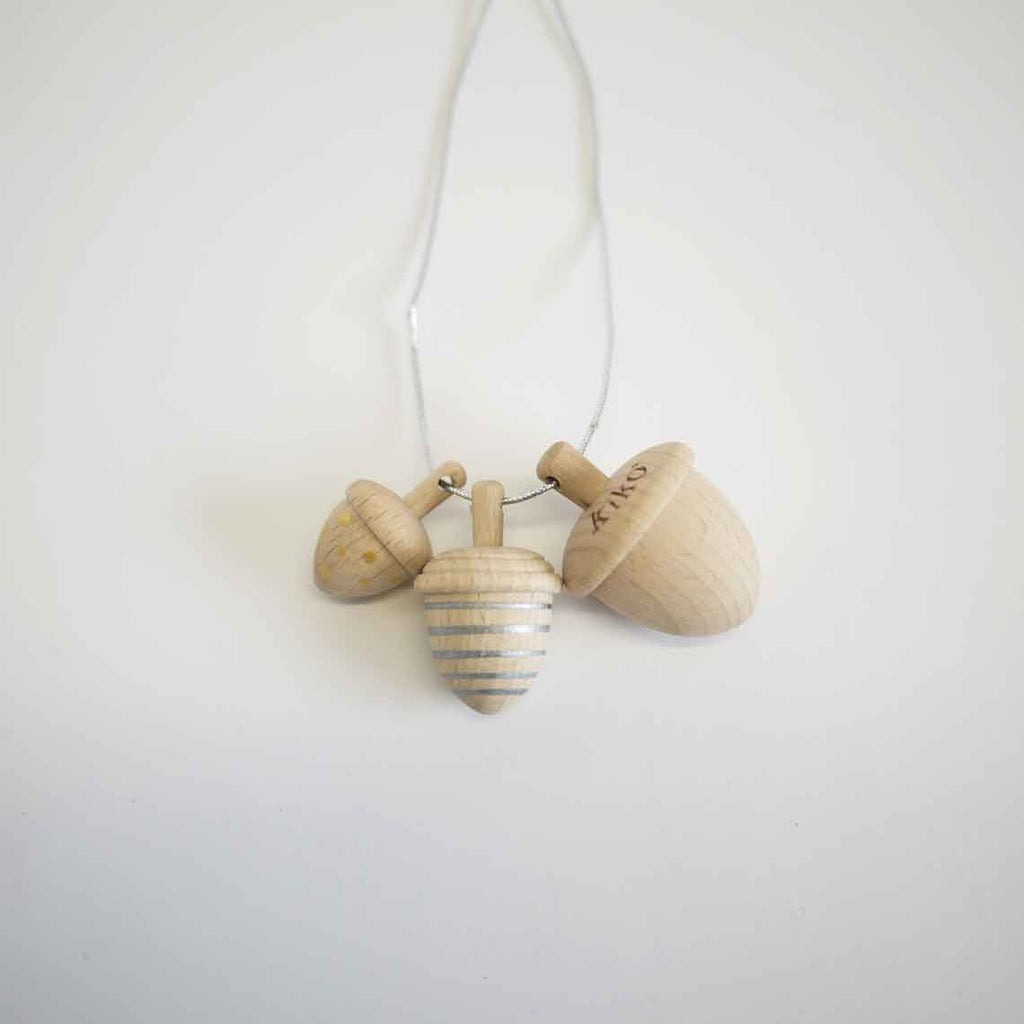 Dongri Acorn Spinning Tops