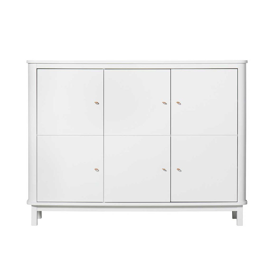 Oliver - Wood Collection Multi Cupboards 3 Doors