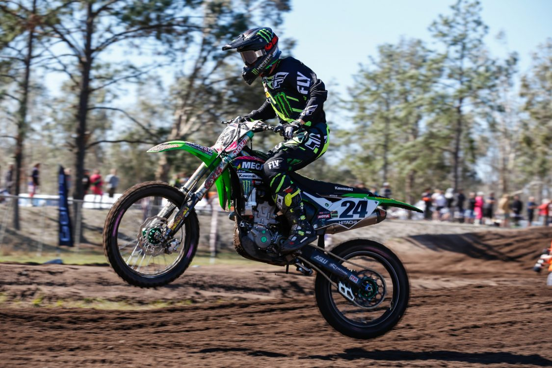 Solid Finish to 2017 MX Nationals for MEGA Fuels Monster Energy Kawasaki Rockwell Racing Team