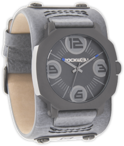 Assassin Gunmetal Grey leather - Rockwell Australia
