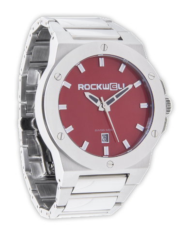 Commander Red/Silver, Silver - Rockwell Australia