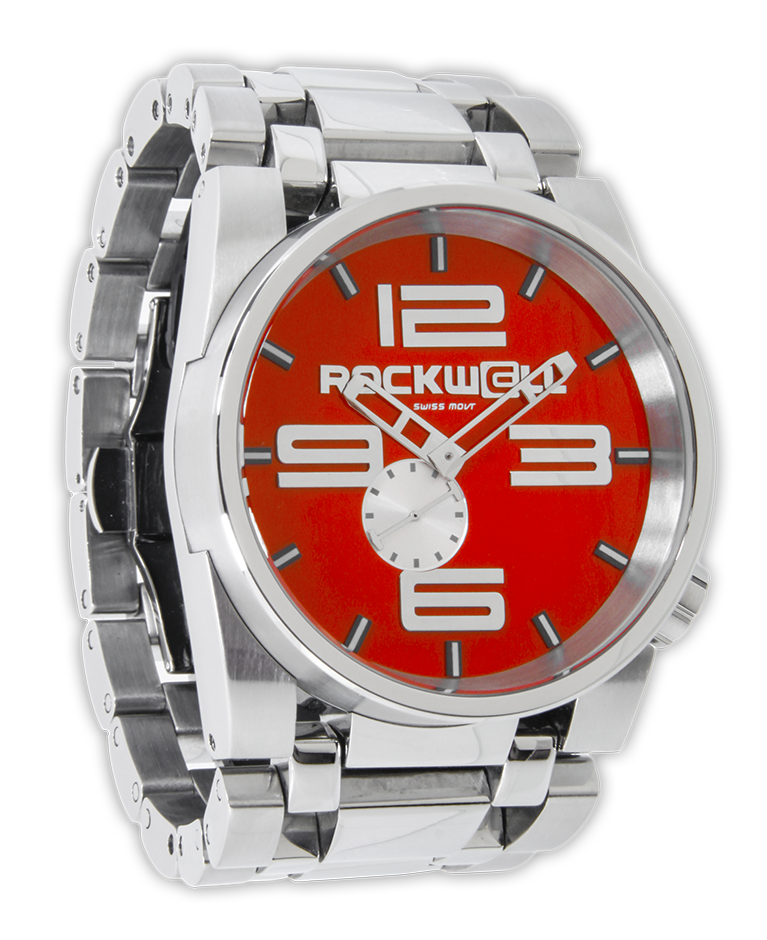 50mm Red/Silver, Silver - Rockwell Australia