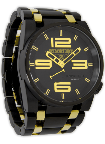 50mm Ricky James Edition Black/Gold, Black/Gold - Rockwell Australia