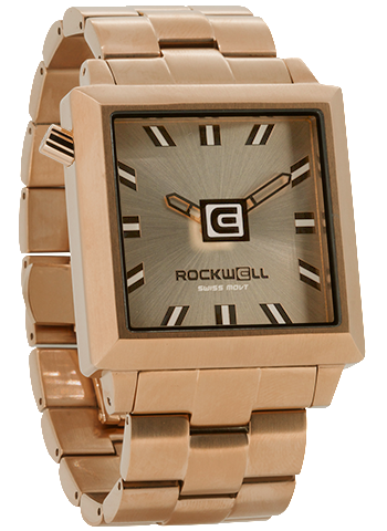 40mm Rose Gold - Rockwell Australia