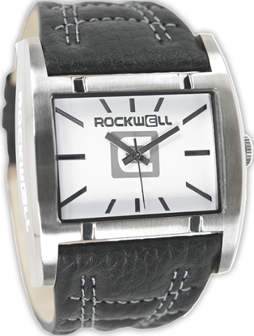 Apostle White/Silver, Black Leather - Rockwell Australia