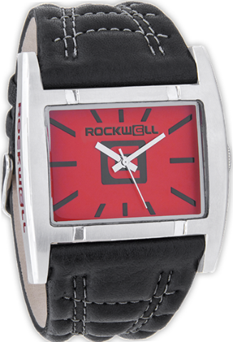 Apostle Red/Silver, Black Leather - Rockwell Australia