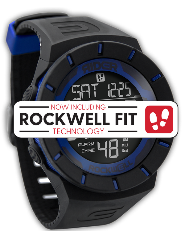 Coliseum Fit™ (Black/Blue - Watch) - Rockwell Australia