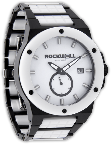 Commander Elite Black/White - Rockwell Australia