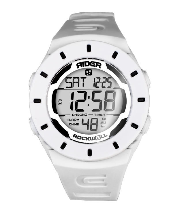 The Coliseum Fit™ - Forum Edition (White & Black - Watch) - Rockwell Australia