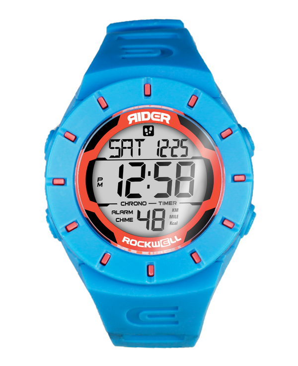 The Coliseum Fit™ - Forum Edition (Shark Blue & Electric Orange - Watch) - Rockwell Australia