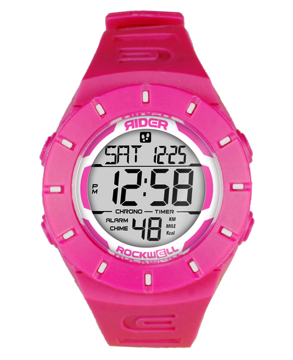 The Coliseum Fit™ - Forum Edition (Pink & White - Watch) - Rockwell Australia