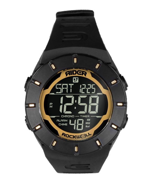 The Coliseum Fit™ - Forum Edition (Black & Gold - Watch) - Rockwell Australia