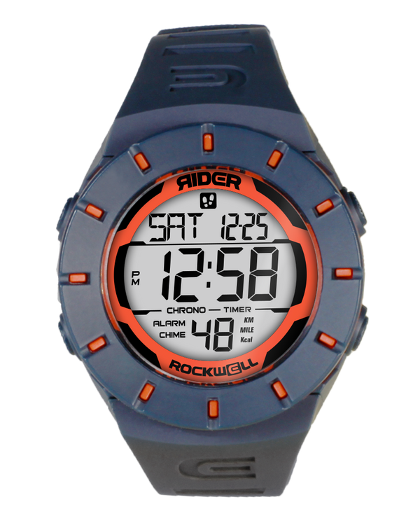 The Coliseum Fit™ - Forum Edition (Slate Blue & Reef Orange - Watch) - Rockwell Australia