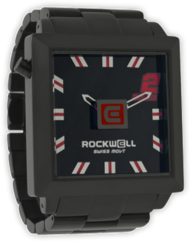 50mm2 Jeremy McGrath Edition Black/Red, Black - Rockwell Australia
