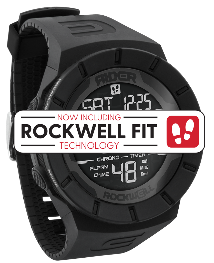 Coliseum Fit™ (Phantom Black - Watch) - Rockwell Australia