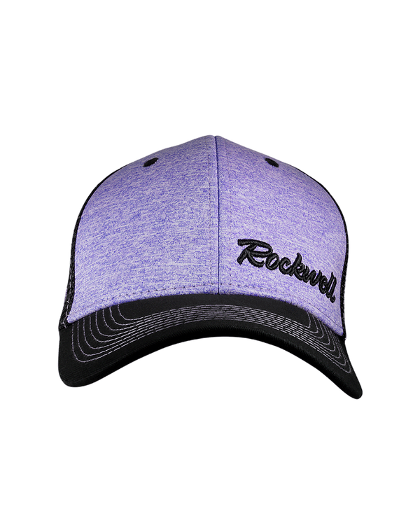 Baseball Purple Heather