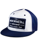 Snapback Trucker Hat Watch Co White/Navy - Rockwell Australia