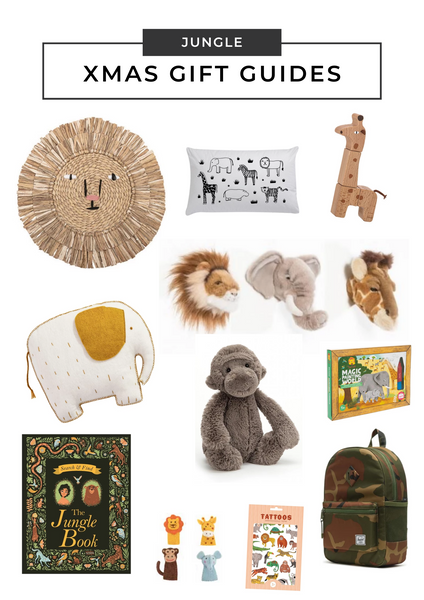 2019 Christmas Gift Guide at little whimsy - Jungle Mania