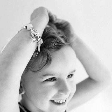 LOVE THIS! Lauren Hinkley Pink Unicorn Childrens' Charm Bracelet from Lauren Hinkley - shop at littlewhimsy NZ