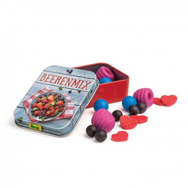 Wooden Food Berries in a Tin