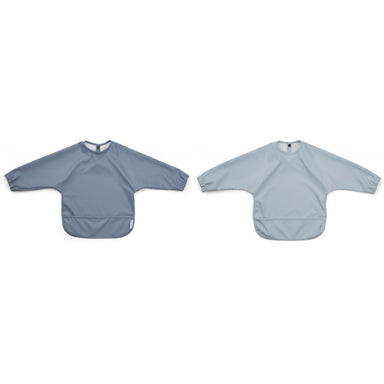 Liewood Eat Merle Cape Bib 2 Pack | Blue Mix
