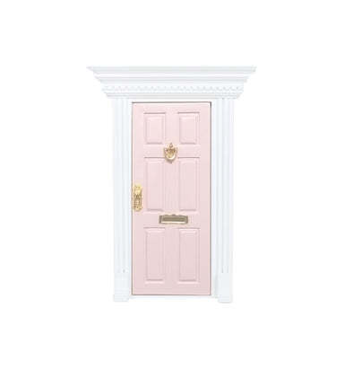 LOVE THIS! My Wee Fairy Door Rose Pink from My Wee Fairy Door - shop at littlewhimsy NZ