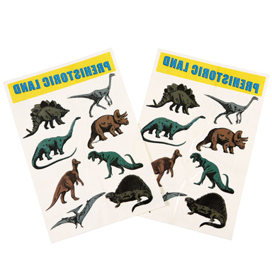 LOVE THIS! Prehistoric Land Temporary Tattoos from Rex - shop at littlewhimsy NZ