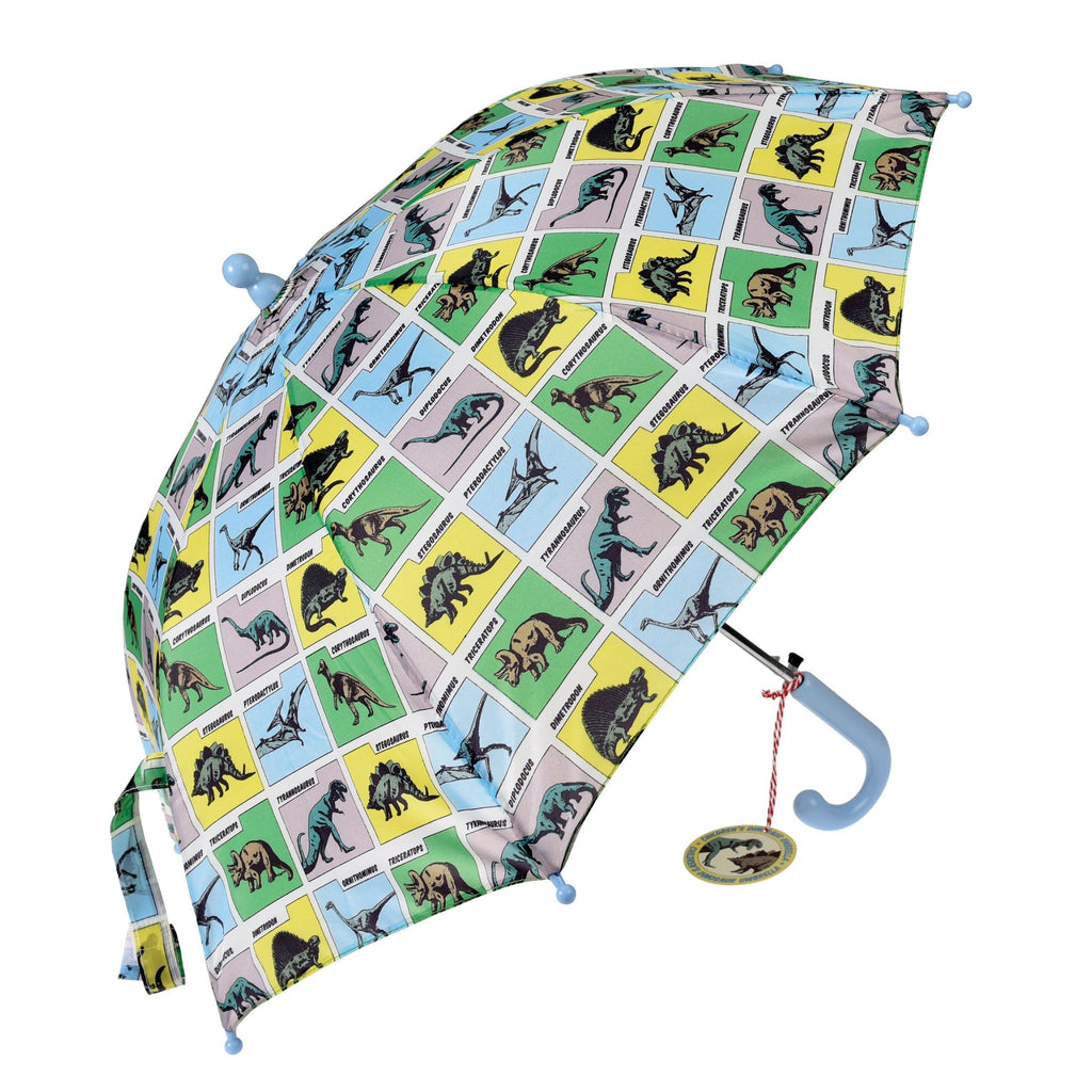 LOVE THIS! Prehistoric Land - Children's Umbrella from Rex - shop at littlewhimsy NZ