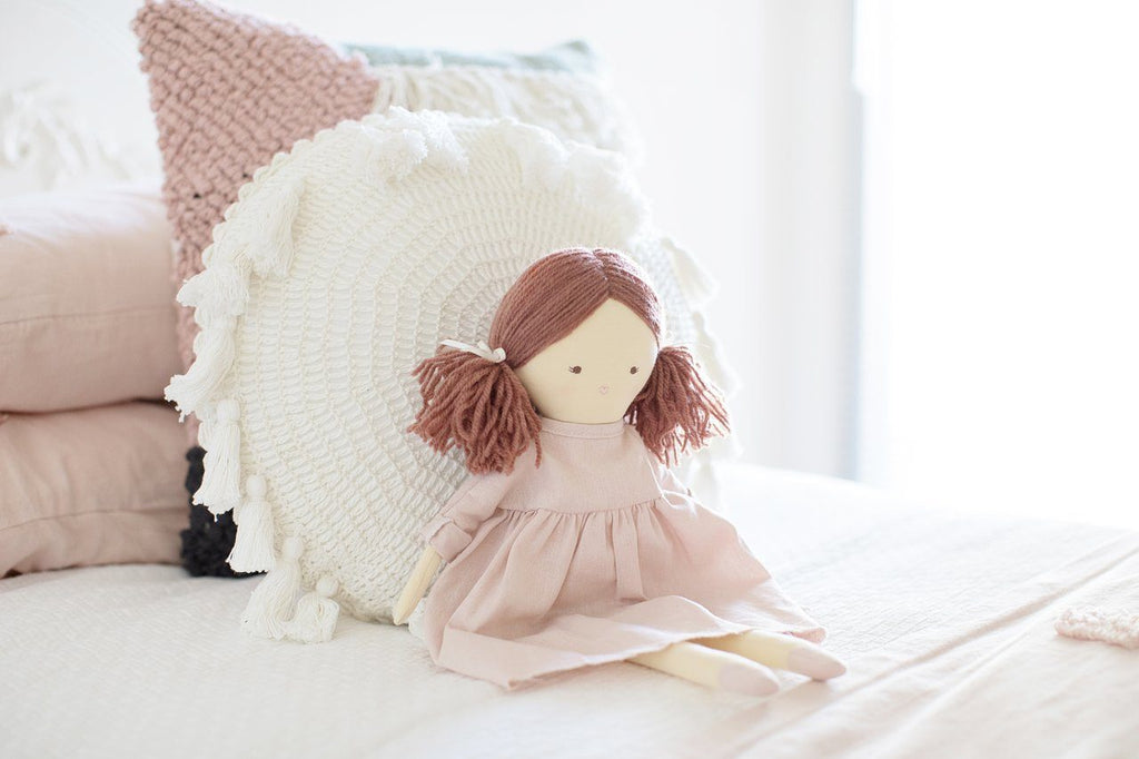 LOVE THIS! Alimrose Matilda 45cm Doll - Pink from Alimrose - shop at littlewhimsy NZ