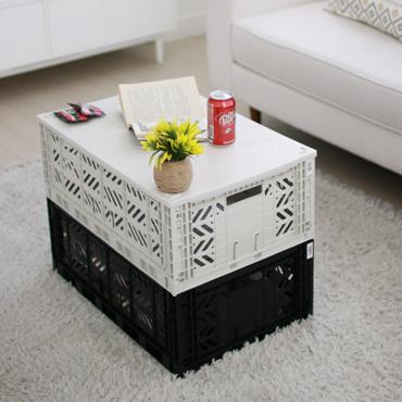 LOVE THIS! AY-KASA Foldable Crate COCONUT MILK from AY-KASA - shop at littlewhimsy NZ