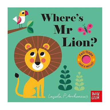 LOVE THIS! Where's Mr Lion? (Felt Flaps) from Penguin Books - shop at littlewhimsy NZ