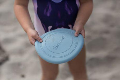 LOVE THIS! Scrunch Frisbee - Duck Egg Blue from Scrunch - shop at littlewhimsy NZ