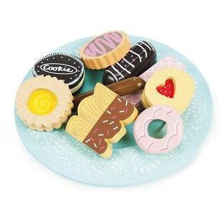 Le Toy Van Honeybake Biscuit and Plate Set - little whimsy - 3