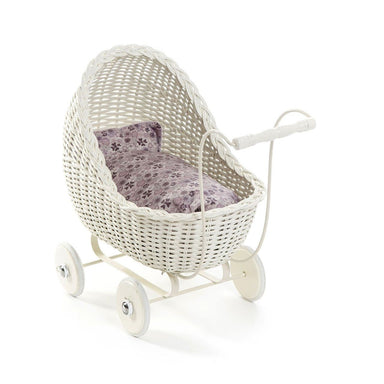 LOVE THIS! Smallstuff Doll Pram - White from Smallstuff - shop at littlewhimsy NZ