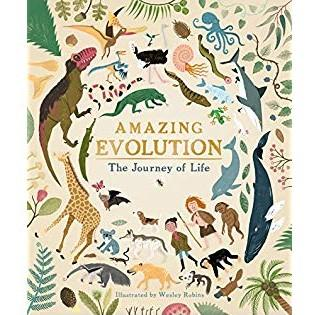 LOVE THIS! Amazing Evolution - The Journey of Life from Penguin Books - shop at littlewhimsy NZ